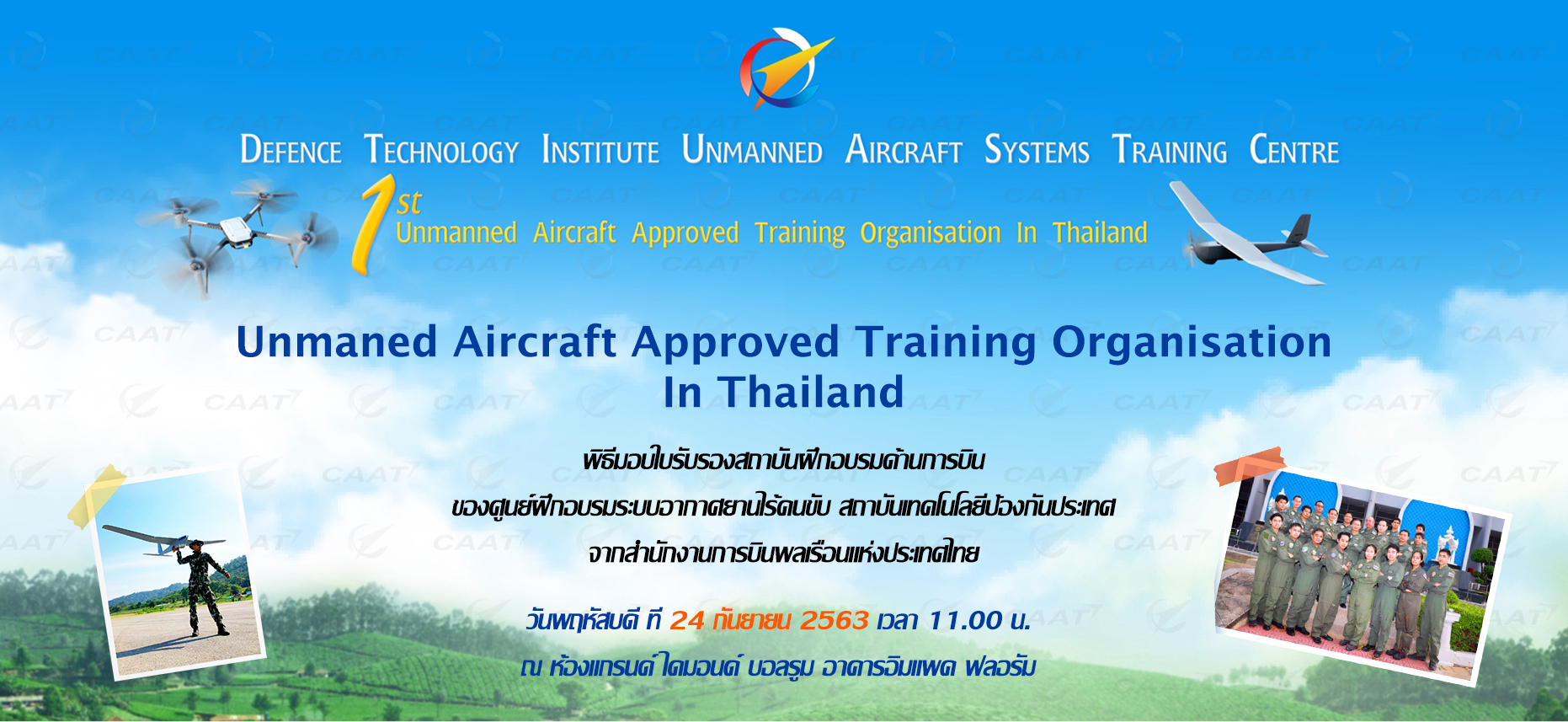 Unmanned Aircraft Approved Training Organisation In Thailand
